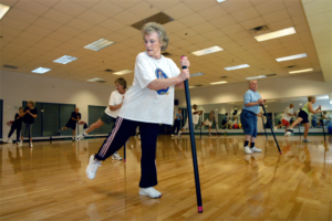 exercise routine elderly
