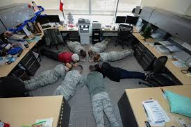 exercise in the office